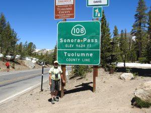 Sonora Pass Hwy 120 high elevation birding.